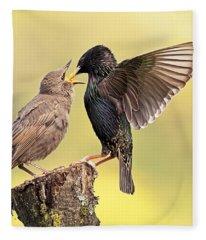 Starlings Fleece Blanket