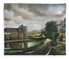 Stokesay Castle Fleece Blanket