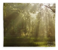 Sunshine Morning Fleece Blanket