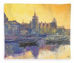 Szczecin - Poland Fleece Blanket