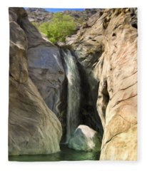 Tahquitz Falls Fleece Blanket
