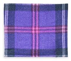 Tartan Pattern Fleece Blanket
