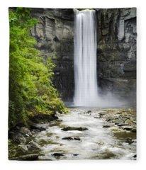 Taughannock Falls State Park Fleece Blanket