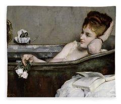 The Bath Fleece Blanket