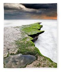The Green Path Fleece Blanket