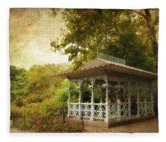 The Ladies Pavilion Fleece Blanket