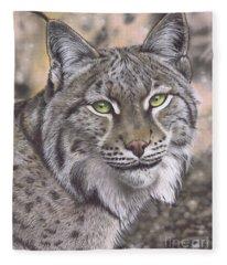 The Lynx Effect Fleece Blanket