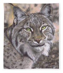 The Lynx Effect Fleece Blanket