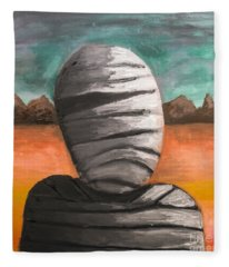 The Mummy And The Curse Of Eternity Fleece Blanket