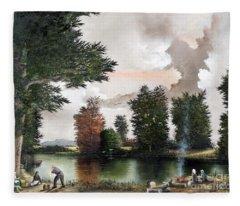 The Picnic Fleece Blanket