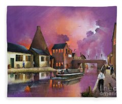 The Red House Cone - Wordsley Fleece Blanket