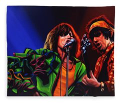 The Rolling Stones 2 Fleece Blanket