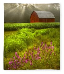 Touched By The Sun Fleece Blanket