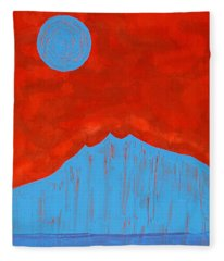 Tres Orejas Original Painting Fleece Blanket
