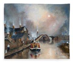 Twilight Departure Fleece Blanket