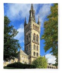University Of Glasgow Fleece Blanket