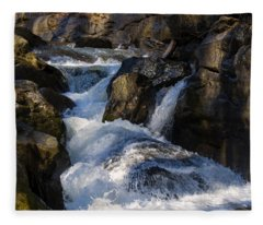 unnamed NC waterfall Fleece Blanket
