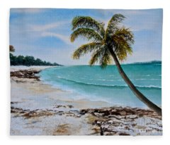 West Of Zanzibar Fleece Blanket