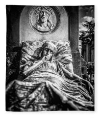 Cemetery Of Mantova Fleece Blanket