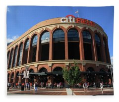 Citi Field - New York Mets 3 Fleece Blanket
