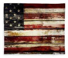 American Flag 33 Fleece Blanket
