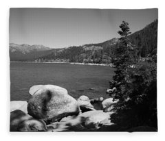 Lake Tahoe Fleece Blanket