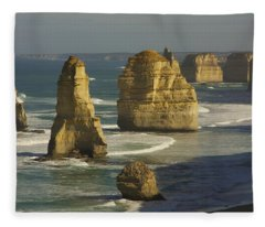 12 Apostles #4 Fleece Blanket