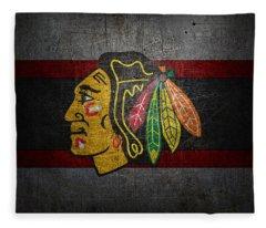 Chicago Blackhawks Fleece Blanket