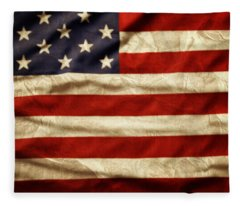American Flag 59 Fleece Blanket