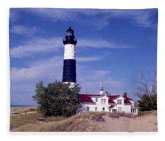 Big Point Sable Fleece Blanket