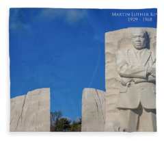 Martin Luther King Jr Memorial Fleece Blanket