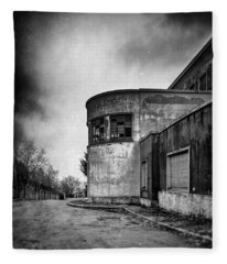 Abandoned Sanatorium Fleece Blanket