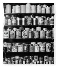 1920s 1930s 1940s Tin Cans Fleece Blanket