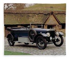 1922 Daimler 30hp, 5.0 Litre 2-door Fleece Blanket
