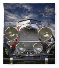 1928 Auburn Model 8-88 Speedster Fleece Blanket