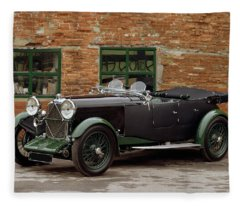1932 Lagonda 2.0 Litre Supercharged Fleece Blanket