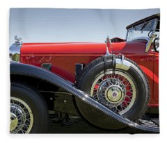 1932 Stutz Bearcat Dv32 Fleece Blanket