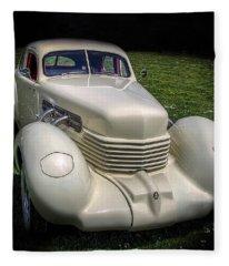 1936 Cord Automobile Fleece Blanket