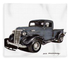 1938 Chevy Pickup Fleece Blanket