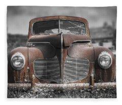 Corrosion Fleece Blankets