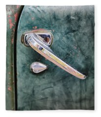 1950 Classic Chevy Pickup Door Handle Fleece Blanket
