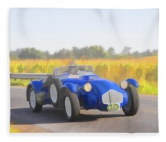 1953 Allard J2x Roadster Fleece Blanket