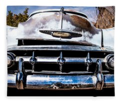 1953 Chevy Bel Air Fleece Blanket