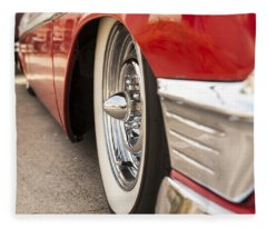 1956 Chevy Custom Fleece Blanket
