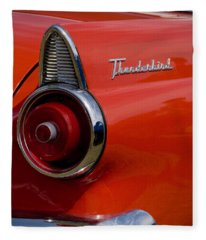 1955 427 Thunderbird Tail Light Fleece Blanket