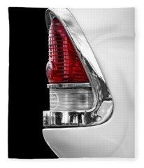 1955 Chevy Rear Light Detail Fleece Blanket