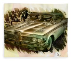 1959 Edsel Fleece Blanket