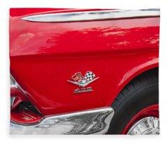 1962 Chevy Impala 409 Fleece Blanket