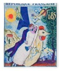 1963 M. Chagall Fleece Blanket