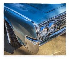 1964 Lincoln Continental Convertible  Fleece Blanket
